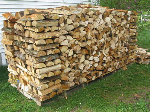 Notice How This Wood Is Nicely Stacked With Only Small Gaps Between The Pieces A 4x4x8 Stack Like Would Measure To 128 Cubic Ft Of